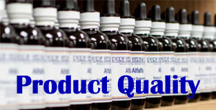 Pure Herbs Product Quality